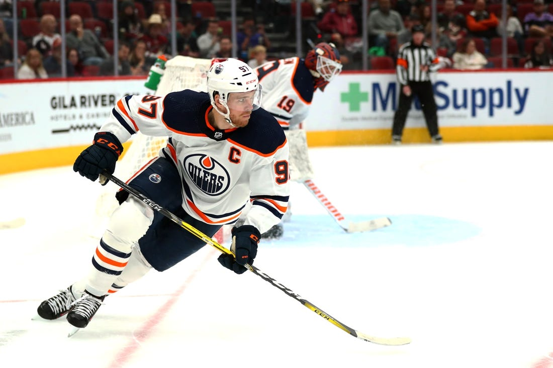 Connor McDavid scores two more as Oilers clobber Coyotes  stay perfect