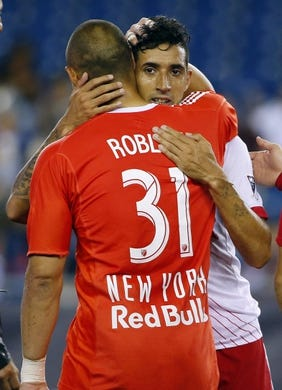 detailed look 80079 73bd9 New York Red Bulls New York Red Bulls at New England ...