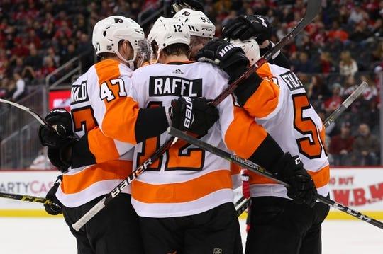 best service 043c5 1ff19 Philadelphia Flyers at New Jersey Devils