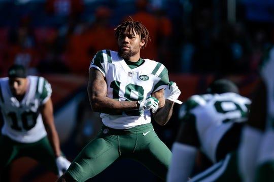 d0e00cefb72 Dec 10, 2017; Denver, CO, USA; New York Jets wide receiver