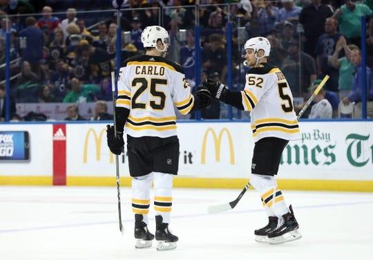 new style e3f1d 9f69b Boston Bruins at Tampa Bay Lightning