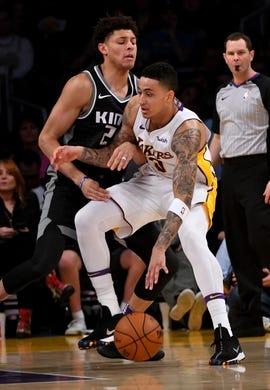 Sacramento Kings at Los Angeles Lakers