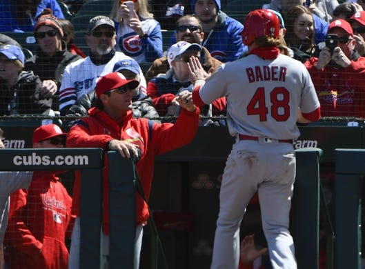 the best attitude 4079b f3628 St. Louis Cardinals at Chicago Cubs