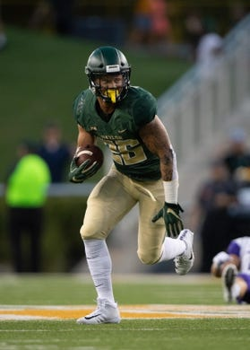 Sep 1, 2018; Waco, TX, USA; Baylor Bears linebacker Terrel Bernard (26) in action during the game against the Abilene Christian Wildcats at McLane Stadium. Mandatory Credit: Jerome Miron-USA TODAY Sports