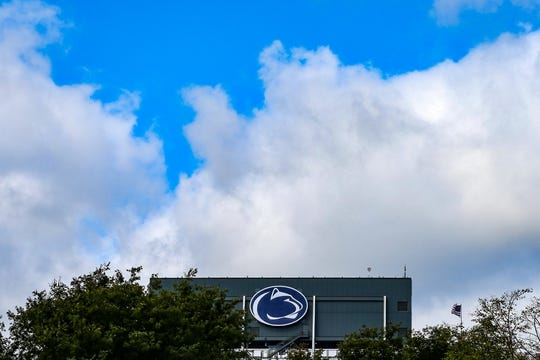 Oct 13, 2018; University Park, PA, USA; General view of Beaver Stadium prior to the game between the Michigan State Spartans and the Penn State Nittany Lions. Mandatory Credit: Rich Barnes-USA TODAY Sports