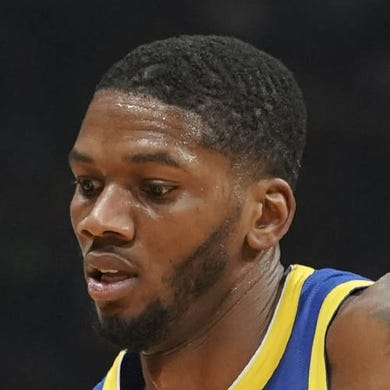 October 12, 2018; San Jose, CA, USA; Los Angeles Lakers forward dribbles the basketball against Golden State Warriors forward Alfonzo McKinnie (28) during the first quarter at SAP Center. Mandatory Credit: Kyle Terada-USA TODAY Sports