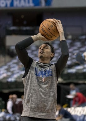 Dec 2, 2018; Dallas, TX, USA; LA Clippers guard Lou Williams (23) warms up before the game between the Dallas Mavericks and the LA Clippers at the American Airlines Center. Mandatory Credit: Jerome Miron-USA TODAY Sports