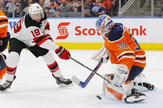 new style e48a3 bcb08 New Jersey Devils at Edmonton Oilers