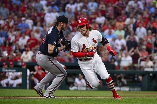 Atlanta Braves at St  Louis Cardinals