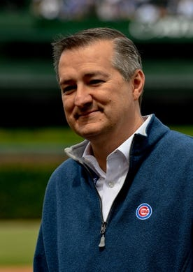 Jun 3, 2019; Chicago, IL, USA; Chicago Cubs chairman Tom Ricketts before the game against the Los Angeles Angels at Wrigley Field. Mandatory Credit: Matt Marton-USA TODAY Sports