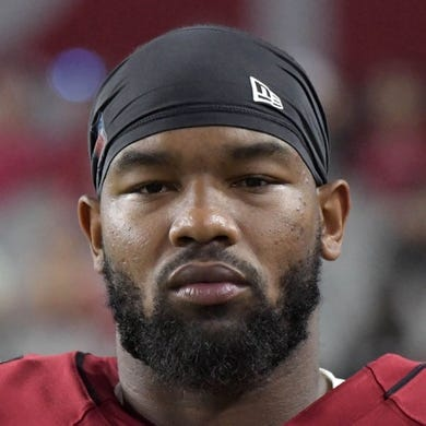 Aug 15, 2019; Glendale, AZ, USA; Arizona Cardinals tight end Darrell Daniels (81) during an NFL football game against the Oakland Raiders. The Raiders defeated the Cardinals 33-26. Mandatory Credit: Kirby Lee-USA TODAY Sports