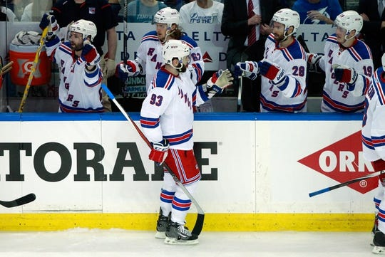 New York Rangers At Tampa Bay Lightning