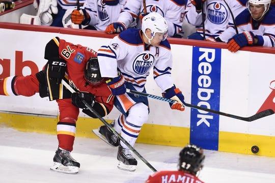 online store 96b4d cc15d Edmonton Oilers at Calgary Flames