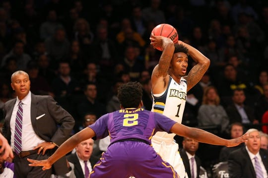 Louisiana State Tigers at Marquette Golden Eagles