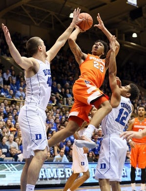 Syracuse Orange at Duke Blue Devils