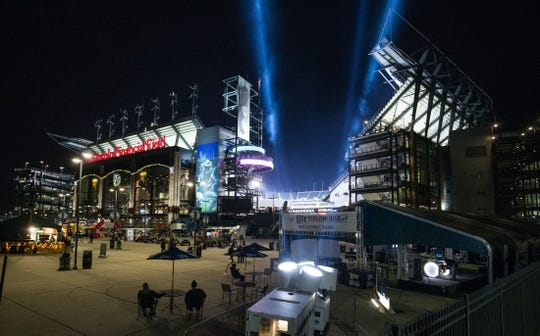 Nov 28, 2016; Philadelphia, PA, USA; General view of Lincoln Financial Field before a game between the Philadelphia Eagles and the Green Bay Packers. Mandatory Credit: Bill Streicher-USA TODAY Sports