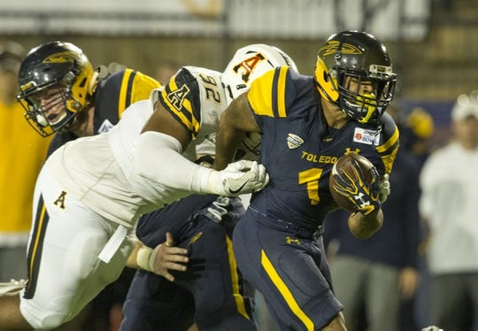Appalachian State Mountaineers at Toledo Rockets