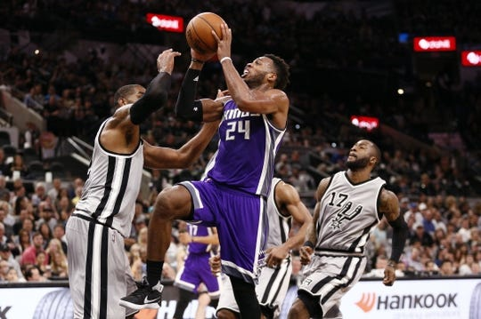 Sacramento Kings at San Antonio Spurs