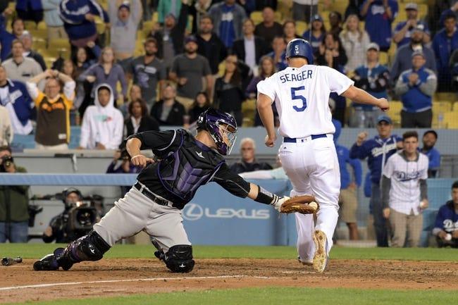 Colorado Rockies at Los Angeles Dodgers 4/15/21 MLB Picks and Predictions