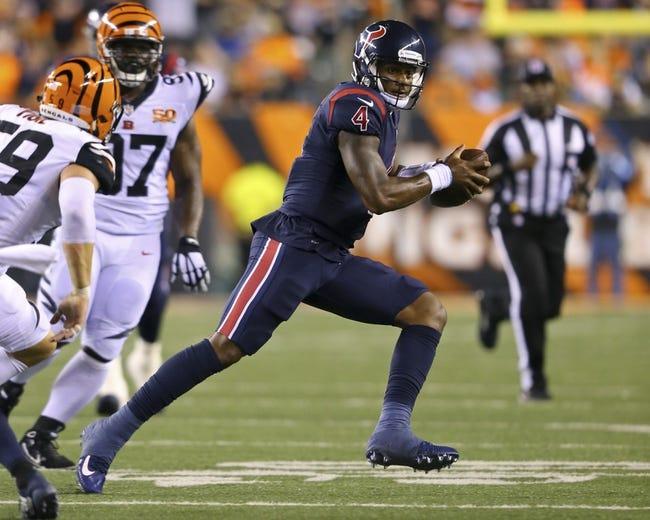 Week 16 NFL: Houston Texans vs Cincinnati Bengals 12/27/20 NFL Picks, Odds, Predictions