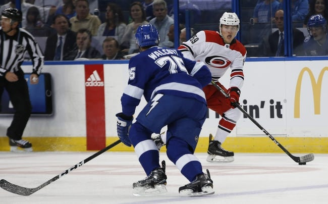 Carolina Hurricanes vs Tampa Bay Lightning NHL Picks, Odds, Predictions 1/28/21