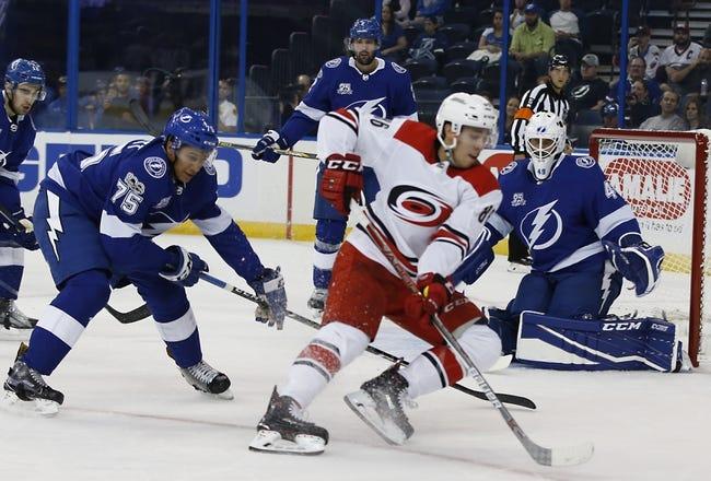 Carolina Hurricanes at Tampa Bay Lightning - 6/3/21 NHL Picks and Prediction