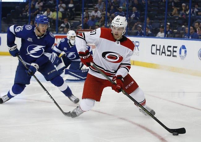Tampa Bay Lightning at Carolina Hurricanes - 6/1/21 NHL Picks and Prediction