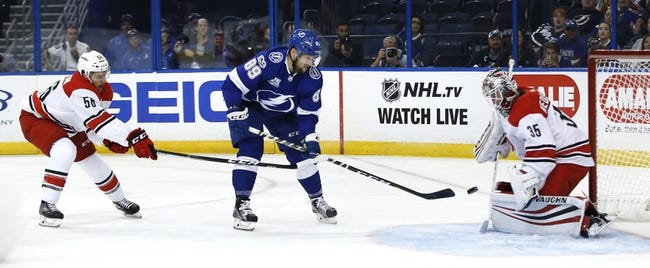 Tampa Bay Lightning vs Carolina Hurricanes NHL Picks, Odds, Predictions 2/25/21