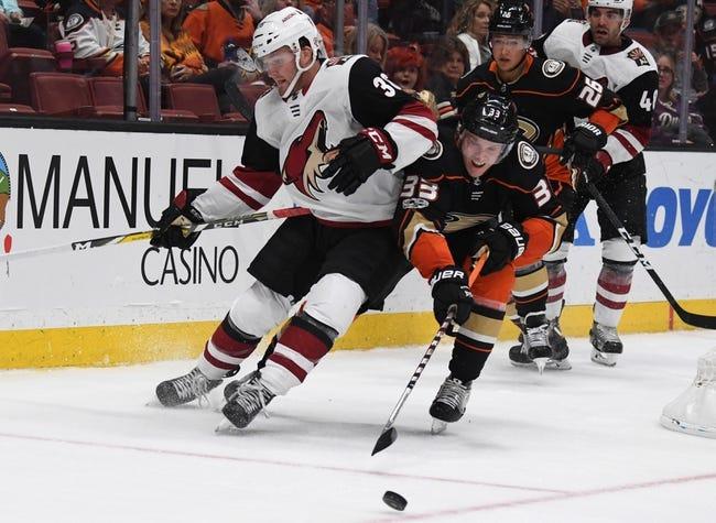Arizona Coyotes vs Anaheim Ducks NHL Picks, Odds, Predictions 1/28/21