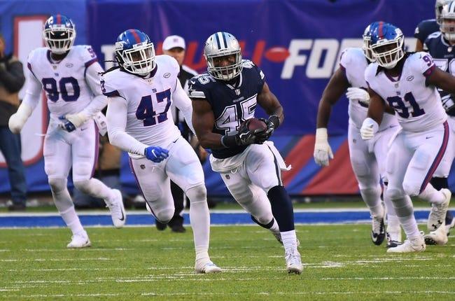 Week 17 NFL Picks: New York Giants vs Dallas Cowboys 1/3/21 NFL Picks, Odds, Predictions