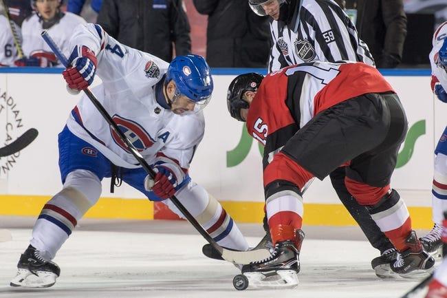 Ottawa Senators vs Montreal Canadiens NHL Picks, Odds, Predictions 2/6/21