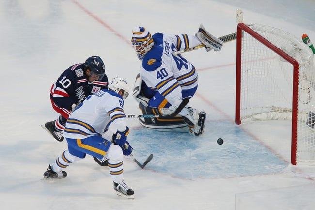 Buffalo Sabres at New York Rangers - 4/25/21 NHL Picks and Prediction