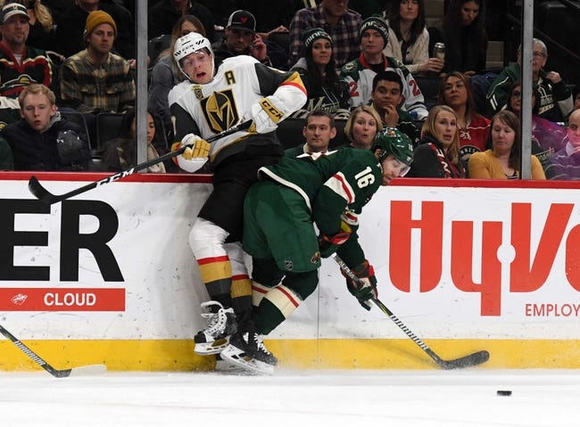 Vegas Golden Knights vs Minnesota Wild NHL Picks, Odds, Predictions 3/3/21