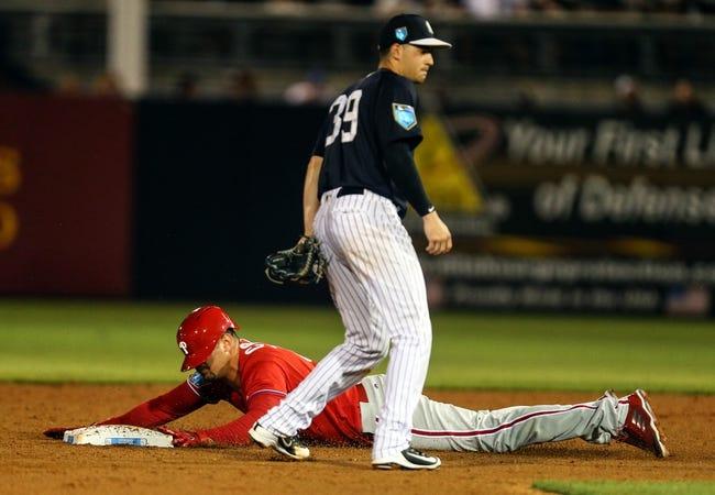 Tony T's Phillies vs. Yankees SIDE 7-20-2021