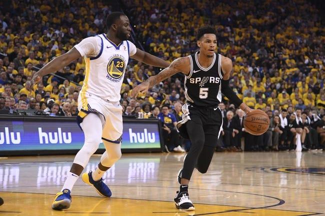 Golden State Warriors vs San Antonio Spurs NBA Picks, Odds, Predictions 1/20/21
