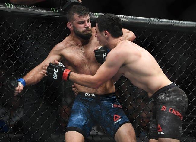 UFC 258: Julian Marquez vs. Maki Pitolo Picks, Odds, and Predictions