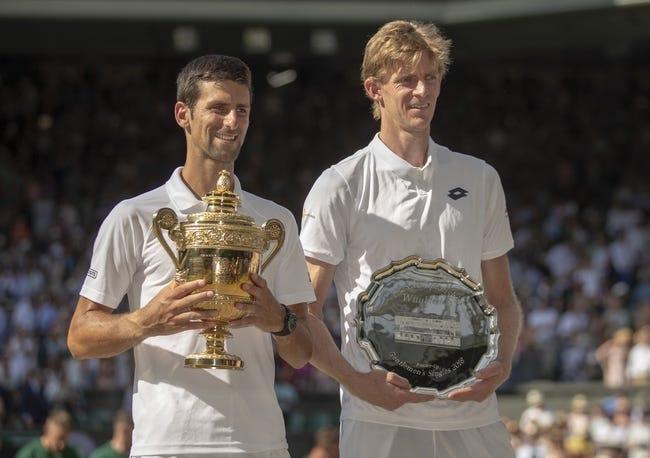 Kevin Anderson vs Novak Djokovic Wimbledon Tennis Picks and Predictions 6/30/21