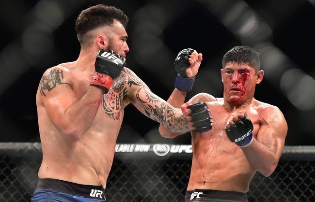 UFC Vegas 28: Roman Dolidze vs. Laureano Staropoli Picks and Predictions