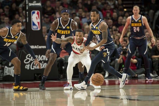 Denver Nuggets at Portland Trail Blazers - 5/29/21 NBA Picks and Prediction