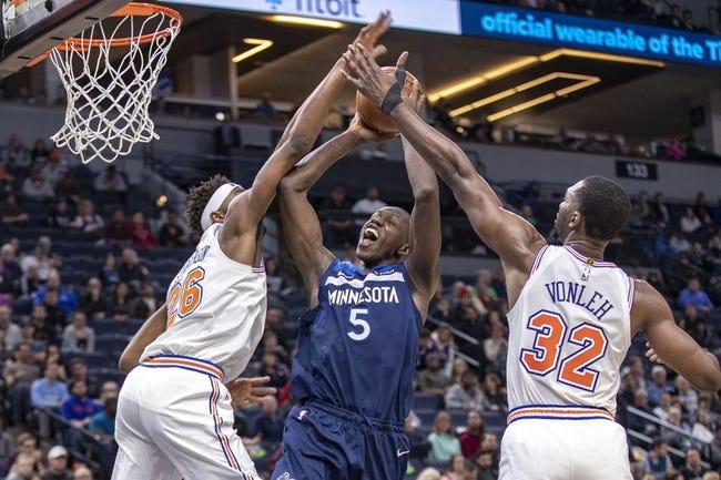 New York Knicks vs Minnesota Timberwolves NBA Picks, Odds, Predictions 2/21/21