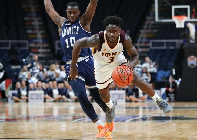 Monmouth at Iona: 2/19/21 College Basketball Picks and Prediction