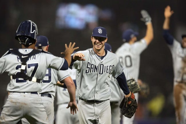 San Francisco Giants at San Diego Padres - 4/7/21 MLB Picks and Prediction