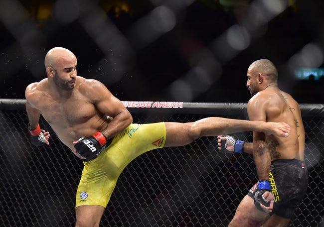 UFC Fight Island 8: Warlley Alves vs. Mounir Lazzez Picks and Predictions