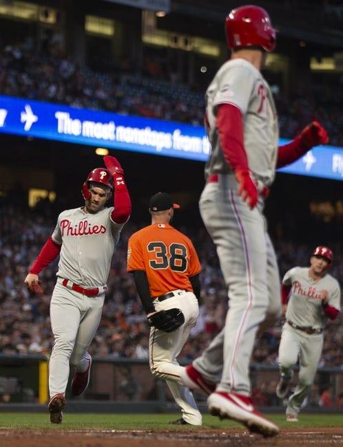 San Francisco Giants at Philadelphia Phillies - 4/21/21 MLB Picks and Prediction