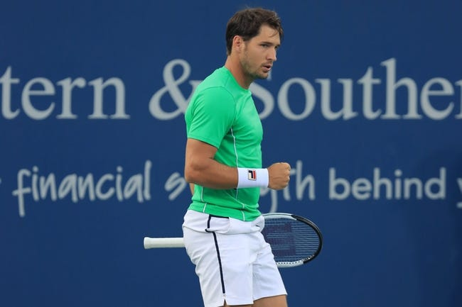 ATP Open Sud de France : Dusan Lajovic vs Dennis Novak 2/25/2021 Tennis Prediction