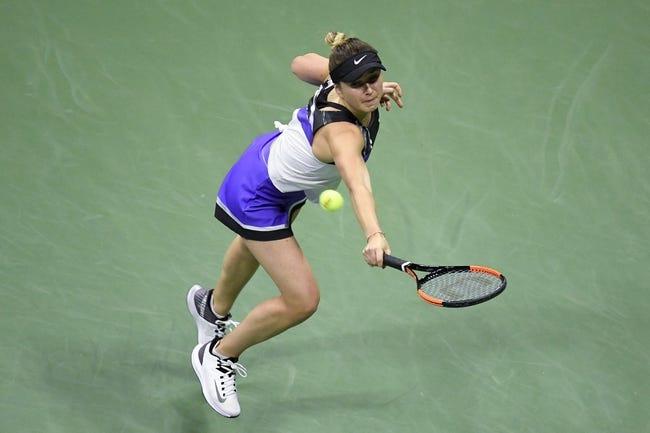 Australian Open: Elina Svitolina vs. Jessica Pegula 2/15/2021 Tennis Prediction