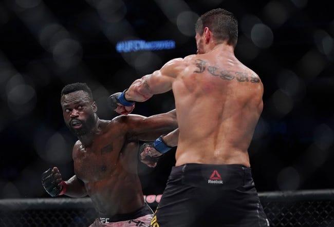 UFC 261: Chris Weidman vs Uriah Hall Picks, Odds, and Predictions