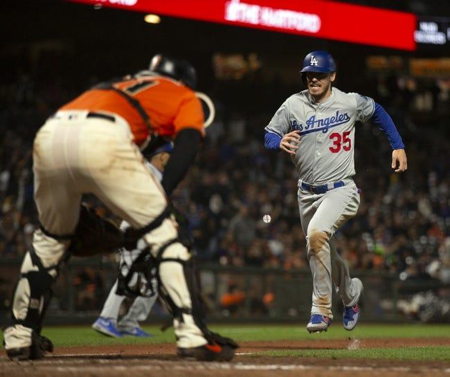 Los Angeles Dodgers at San Francisco Giants: 10/9/21 MLB Picks and Predictions