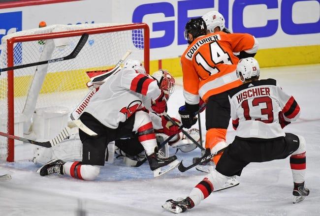 Philadelphia Flyers at New Jersey Devils - 1/26/21 NHL Picks and Prediction