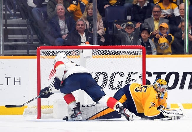Florida Panthers vs Nashville Predators NHL Picks, Odds, Predictions 2/4/21